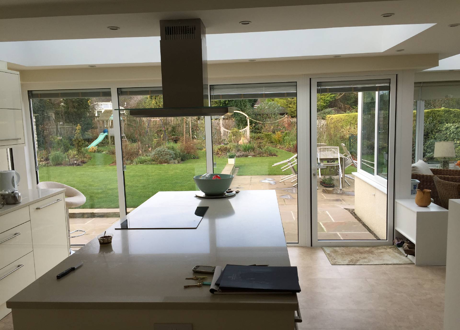 Kitchen Extension in Orangery - internal view 1